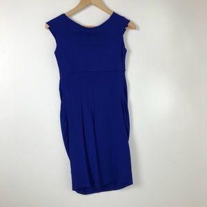 Dresses - Jules and Jim Royal Blue Maternity Dress Small